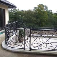 B015-Balustrada din fier forjat