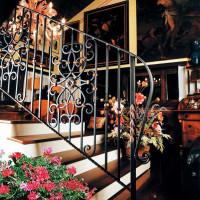 B025-Balustrada din fier forjat