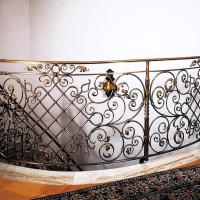 B047-Balustrada din fier forjat