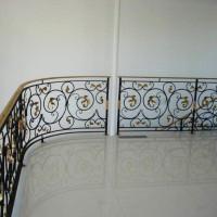 B065-2-Balustrada din fier forjat