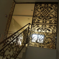 B069-Balustrada din fier forjat