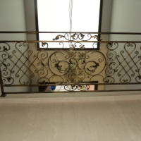 B076-6-Balustrada din fier forjat