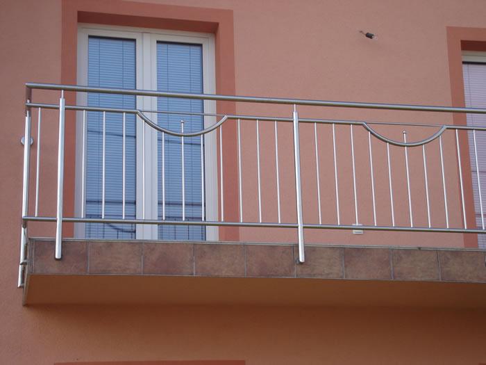 Balustrade inox for Simple railing design for balcony