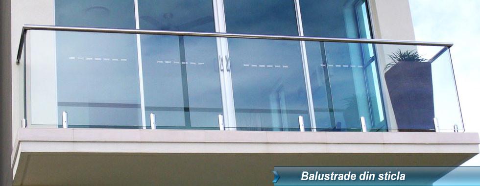balustrada sticla