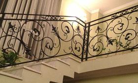 balustrada fier forjat metalconfex.ro