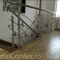 BI-062 Balustrada inox MetalConfex.ro